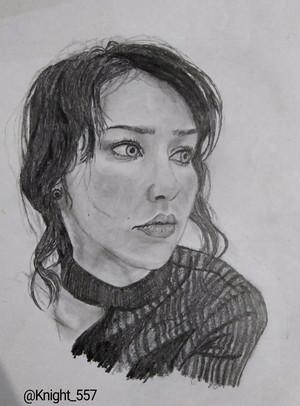Stefanie Joosten tagahanga Art