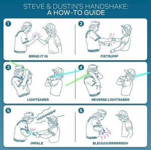 Steve and Dustin's Handshake: A How-To Guide