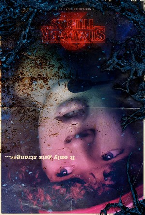 Stranger Things 2 - Upside Down Poster - Dustin