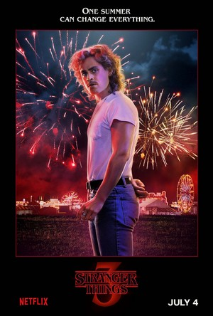 Stranger Things 3 - 'One Summer Can Change Everything' Poster - Billy Hargrove