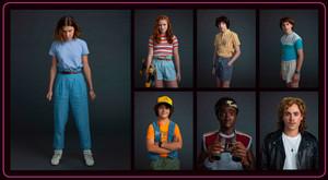 Stranger Things 3 Portraits - Full Set