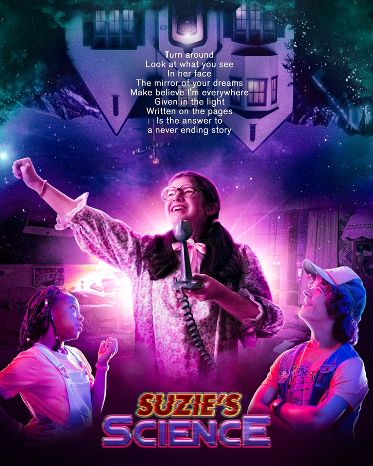 Stranger Things 3 - 'Weird Science' Inspired Poster - Suzie's Science