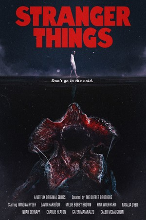 Stranger Things - 'Tremors' Inspired Poster