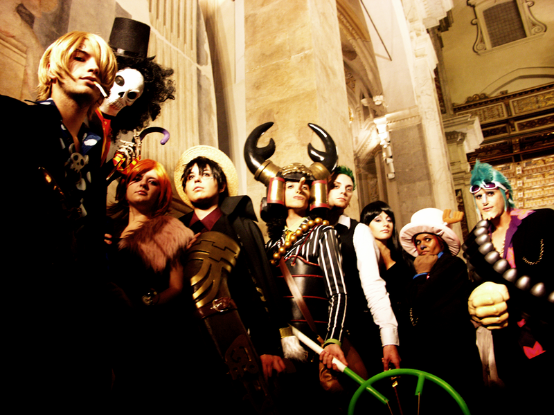 Straw Hats cosplay
