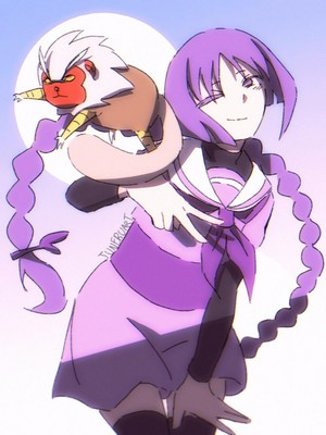 Sumire and nue