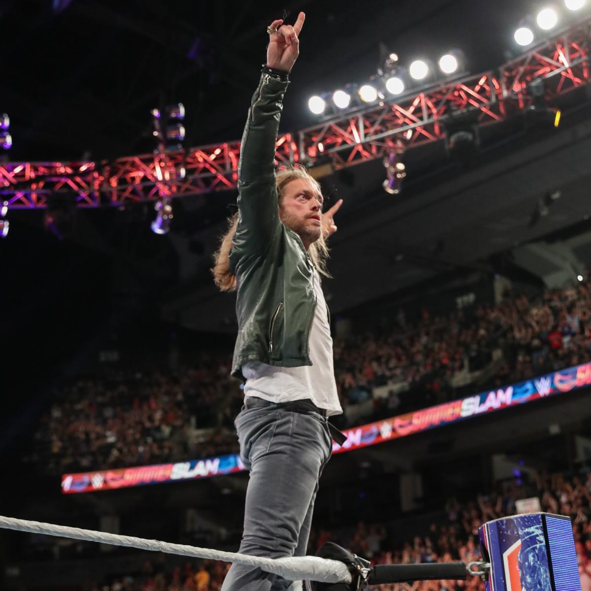SummerSlam 2019 ~ Edge returns to silence Elias