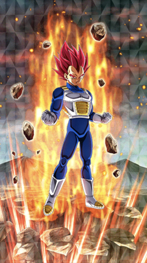 Super sayian god Vegeta