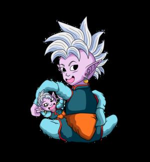 Supreme Kai and Child Supreme Kai