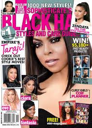 Taraji P. Henson On The Cover Of Black Hair
