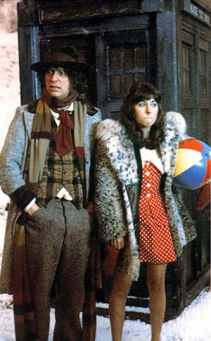 The 4th Doctor and Sarah Jane