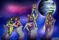 The D.D. Girls (3D HDR) - sailor-moon fan art