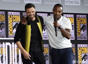 The halcón and The Winter Soldier -2019 Marvel Comic Con