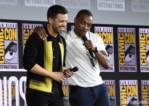 The falco, falcon and The Winter Soldier -2019 Marvel Comic Con