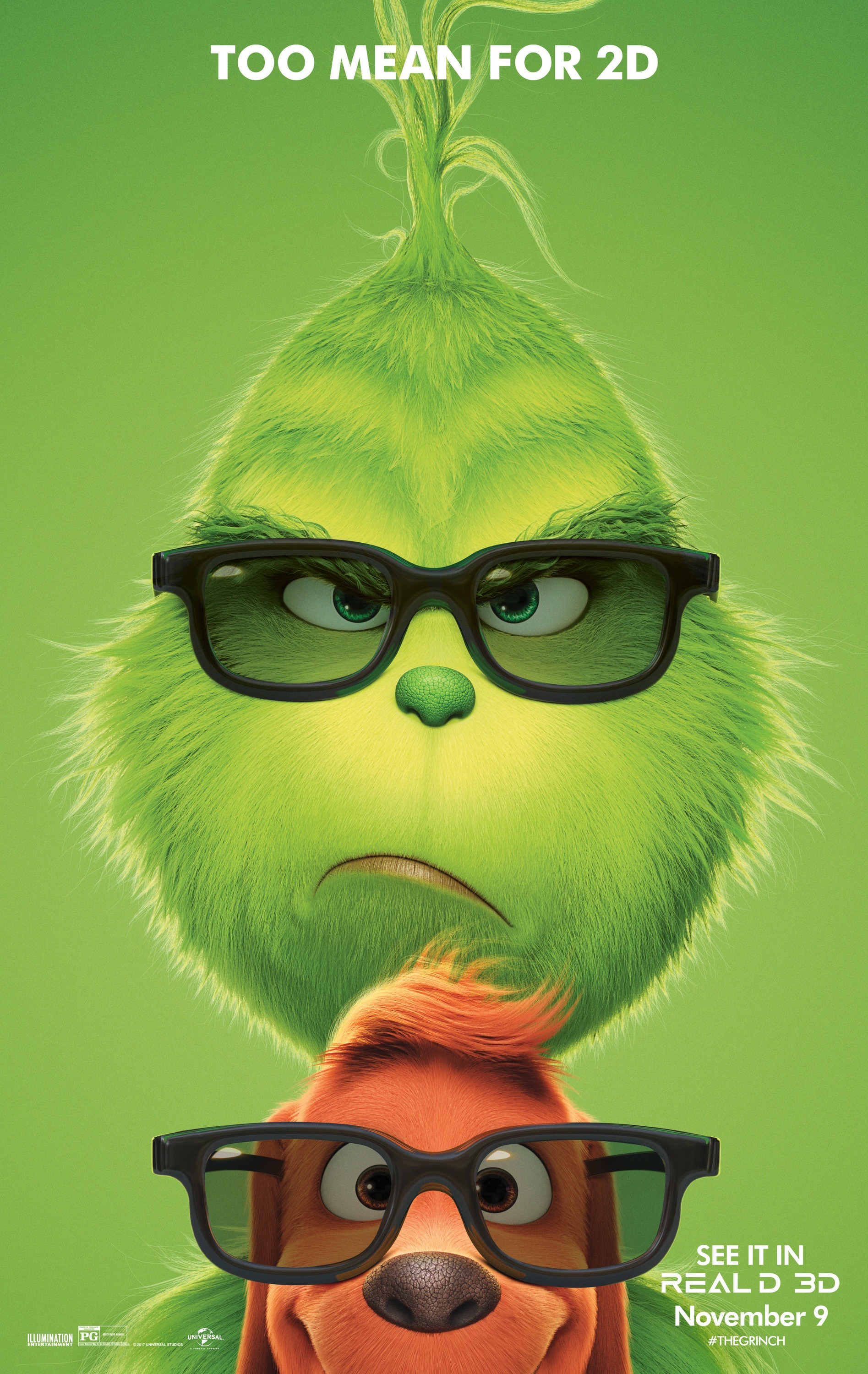 The Grinch (2018) 3D Poster
