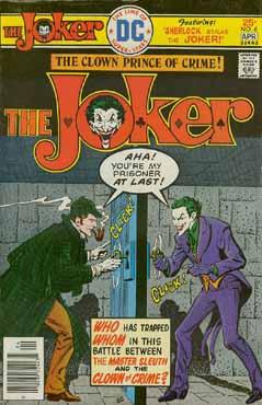 The Joker vs. Sherlock Holmes