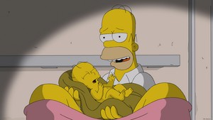 "The Simpsons ~ 25x05 ""Labor Pains"""