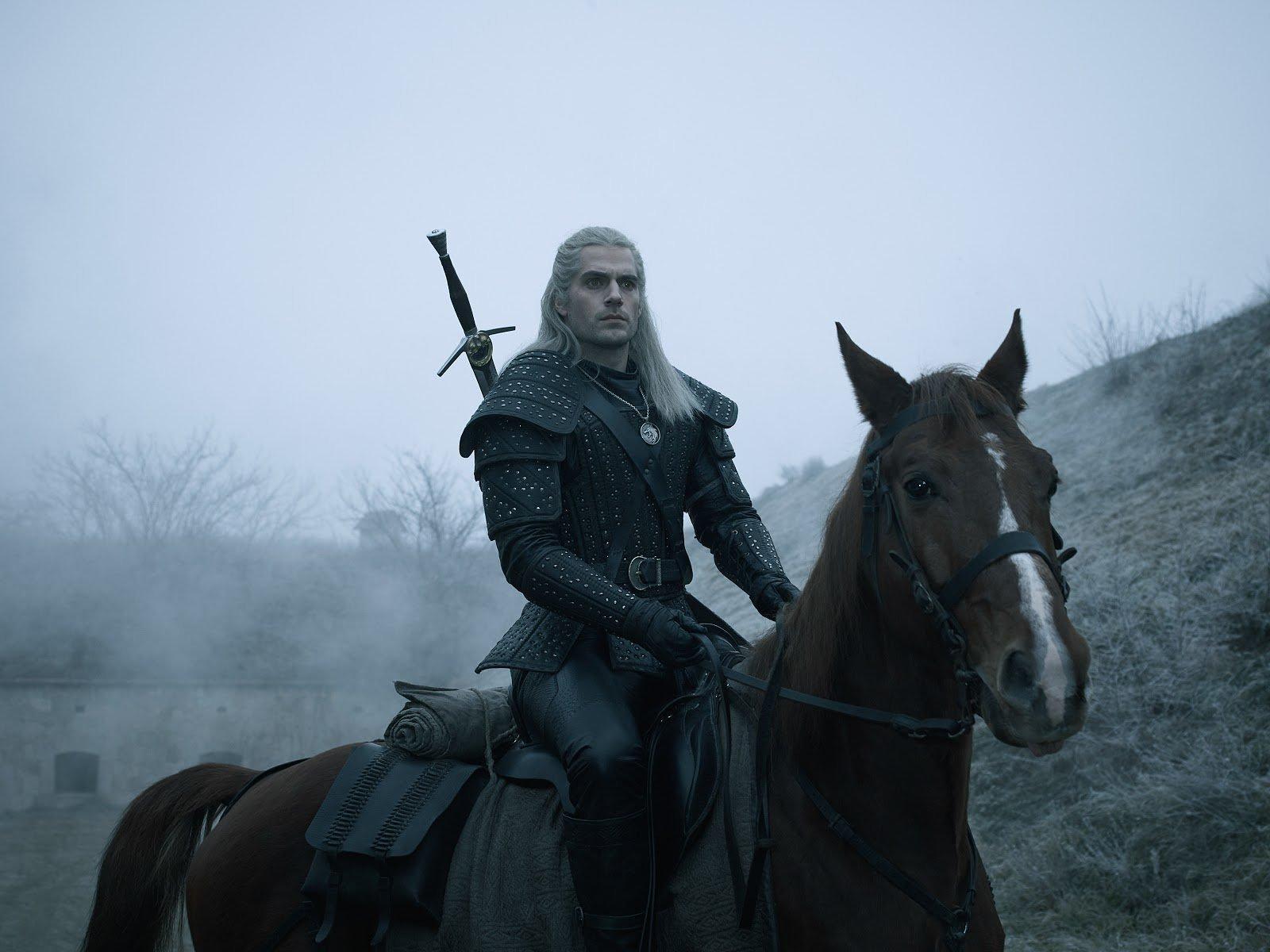 The Witcher - Season 1 Portrait - Geralt and Roach