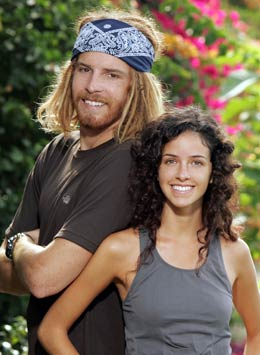 "Thomas Kyle ""TK"" Erwin and Rachel Rosales (The Amazing Race 12)"