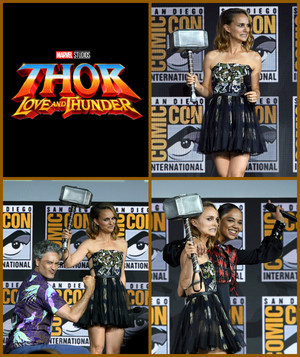 Thor Love and Thunder (Natalie Portman) -2019 Marvel Comic Con