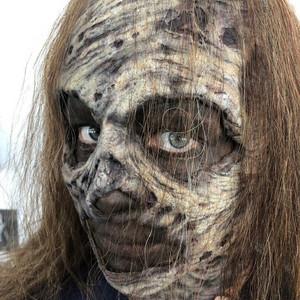 Thora Birch as Gamma - Behind the Scenes