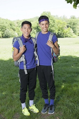 "Timothy ""Tim"" Tsao and Te arrendajo, jay McGrath (The Amazing Race 25)"