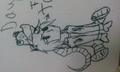 Tiny Cute Self Insert - darkmoon-and-zutaradragons-rps fan art