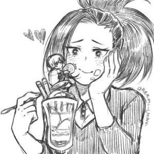 Todoroki and Momo