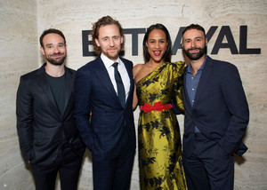 Tom Hiddleston, Charlie Cox, Zawe Ashton, Eddie Arnold and Jamie Lloyd