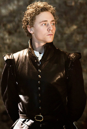 Tom Hiddleston as Cassio in Donmar Warehouse's production of Othello