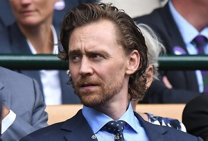 Tom Hiddleston attends Men's Final день at the Wimbledon 2019 on July 14 (London, England)