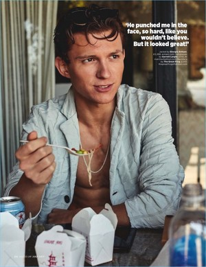 Tom Holland - GQ UK Photoshoot - 2017