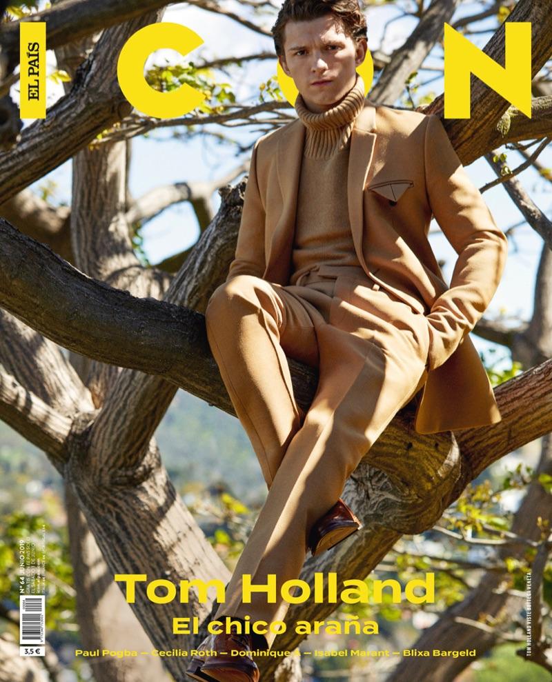Tom Holland - Icon El Pais Cover - 2019