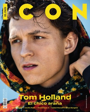 Tom Holland - icoon El Pais Cover - 2019