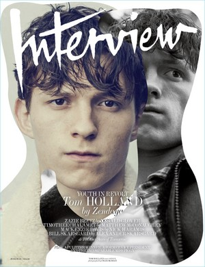 Tom Holland - Interview Magazine Cover - 2017
