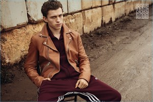 Tom Holland - L'Uomo Vogue Photoshoot - 2017