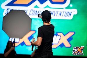 Tom Holland Spotlight Panel in the Grand Ballroom at FanX 2019