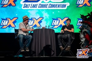 Tom Holland Spotlight Panel in the Grand Ballroom at FanX 2019
