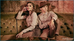 Tom Holland and Zendaya - The Hollywood Reporter Photoshoot - 2016