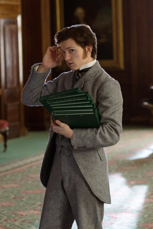Tom Holland as Samuel Insull in The Current War