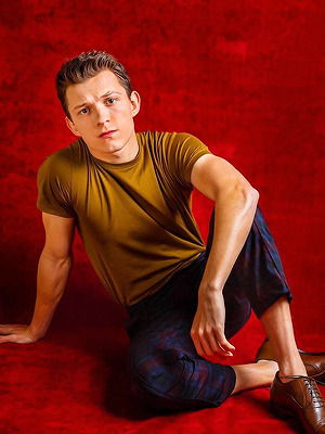 Tom Holland litrato sa pamamagitan ng ibon ng dyey L. Clendenin for Los Angeles Times
