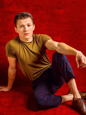 Tom Holland foto sejak jay L. Clendenin for Los Angeles Times