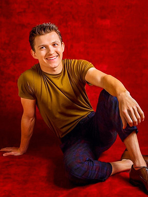Tom Holland photo by Jay L. Clendenin for Los Angeles Times