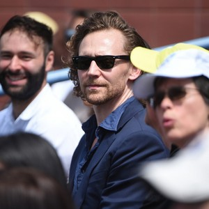 Tom at the US Open tenis Championships 2019