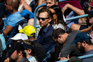 Tom at the US Open Tennis Championships 2019