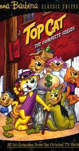 superiore, in alto Cat On DVD