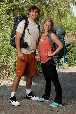 "Trey Wier and Alexis ""Lexi"" Beerman (The Amazing Race 21)"