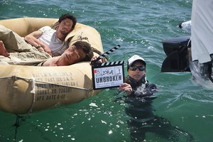 Unbroken (2014) Behind the Scenes - Finn Wittrock and Jack O'Connell