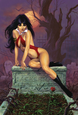 Vampirella: Hot & Sexy - Art par Joe Jusko