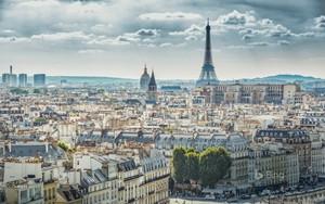 Veiw of Paris From Notre Dame