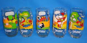 Vintage पीनट्स Drinking Glasses